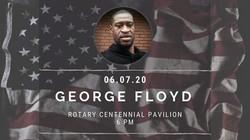 George Floyd Vigil 2020
