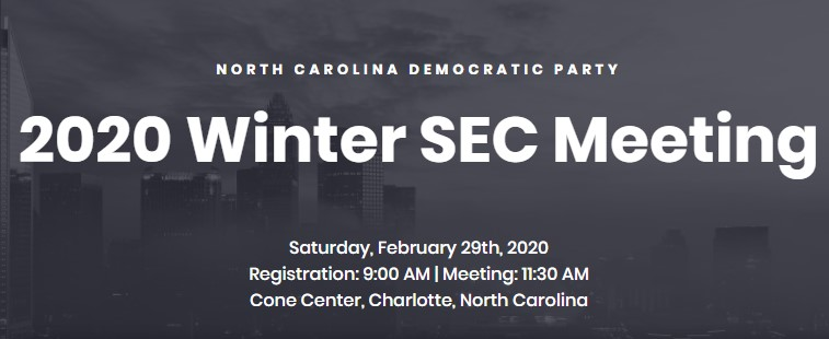 Winter SEC Meeting 2020