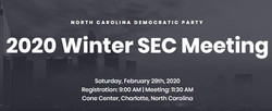 Winter SEC Meeting 2020