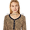 Thumbnail: Tommy Hilfiger Women's  Mini Cheetah Long Sleeve Pajama Set