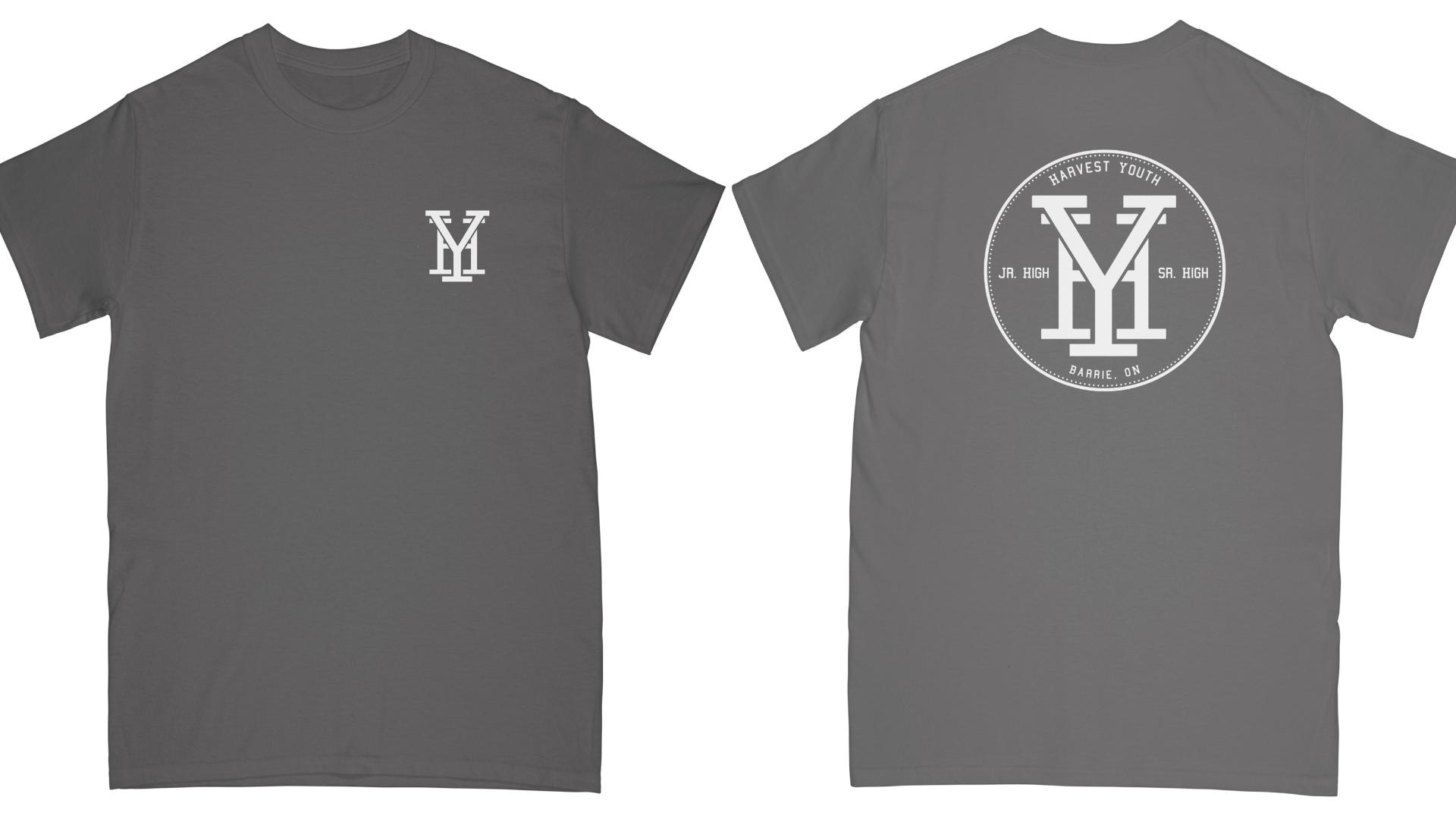 HY T-Shirt, Grey