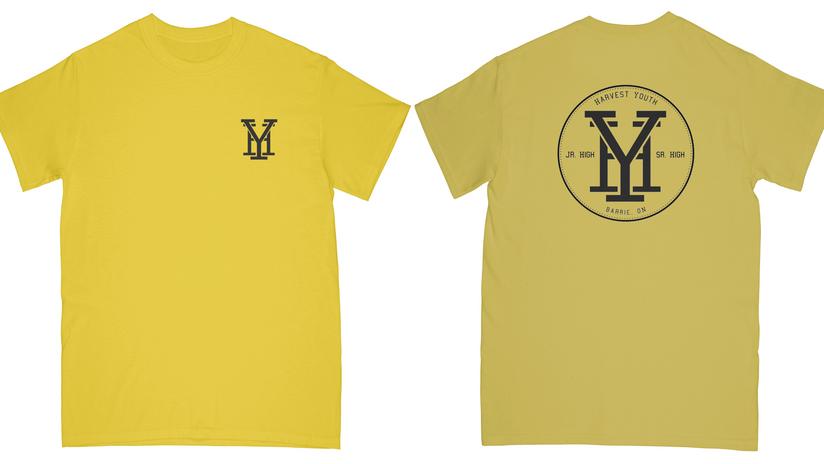 HY T-Shirt, Yellow