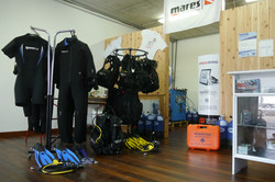 Deep Blue Azores Diving Center Shop