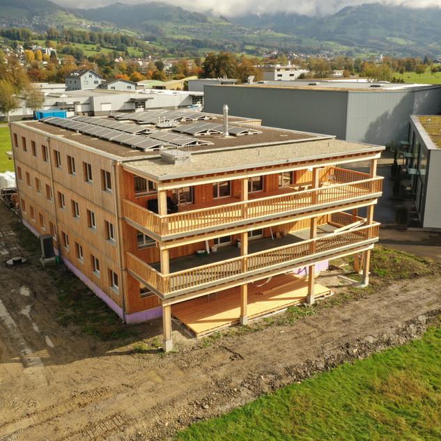 Neubau Werkhalle Schubiger