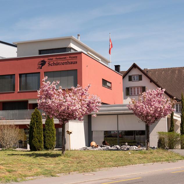Neu-Anbau Restaurant Schützenhaus
