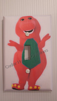 Barney Light Switch Cover