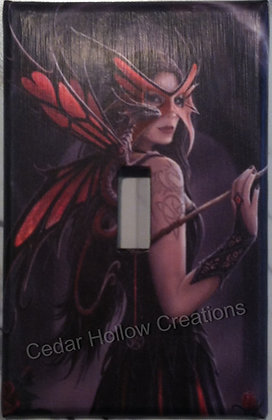 Masked Fairy-Light Switch Cover
