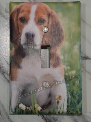 Beagle-Light Switch Cover