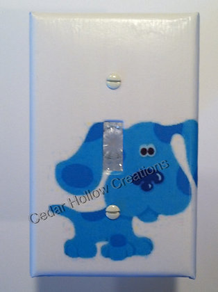 Blue's Clues Light Switch Cover