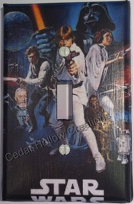 Star Wars-Light Switch Cover