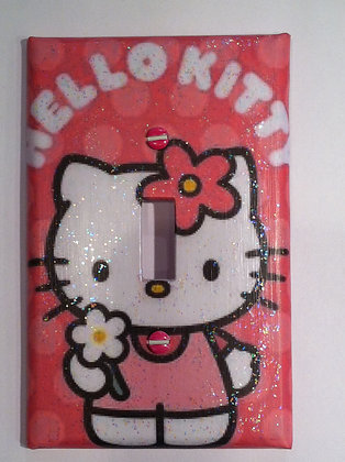 Hello Kitty with Glitter