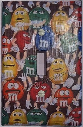 M & M's - Light Switch Cover