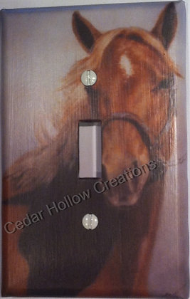 Horse - Light Switch Cover