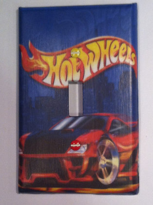 Hot Wheels-Light Switch Cover-FREE Shipping