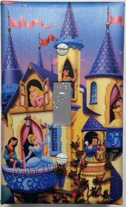 Cinderella's Castle-Light Switch Cover
