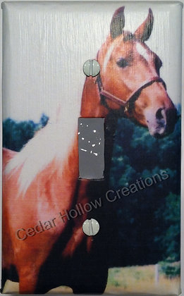 Quarter Horse - Light Switch Cover
