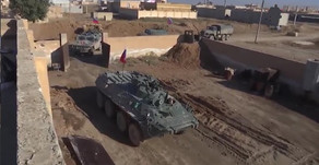 Russian Military Police establishing a base in Tall as-Sim'an | December 2019 | Syria