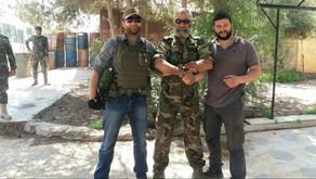 War correspondent Oleg Blokhin: Clips from Syria (part 2)