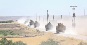 Locals throwing stones at the Russian-  Turkish joint patrol | July 9th 2020 | Northeastern Syria