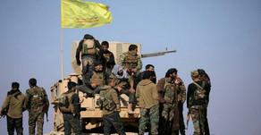 "IED attack on the Kurdish ""SDF"" headquarters in Deir ez-Zor province"
