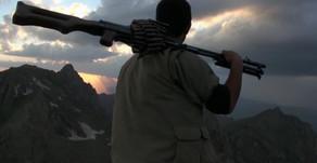 PKK guerrillas attacks on Turkish military installations  April 2019