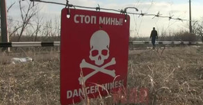 Minivan run over a mine near the checkpoint in Donbass | February 23rd 2019 | DPR