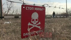 Minivan run over a mine near the checkpoint in Donbass | February 23rd 2019 | DPR