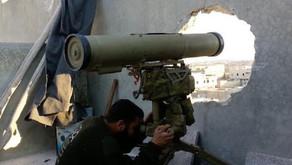 Jihadists using ATGMs   First week of July 2019   Syria