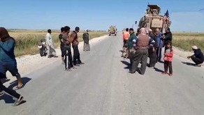 Syrian civilians block US forces from entering their villages | May 12th, 2020