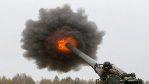 Ukrainian forces shelling the position of Lugansk People's Militia | Winter 2019 | Donbass