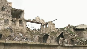Restoration is underway of the ancient walled marketplace of Aleppo's Old City
