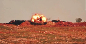 Jihadists using Anti-Tank Guided Missiles   Second half of January of 2020   Syria