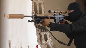 War on ISIS - terrorist snipers   Spring of 2017