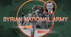 Turkish occupying force in Syria