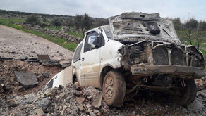 Kurdish YPG attacking Turkish Army-backed jihadists in Afrin region. Syria