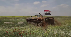 Syrian Army's 25th Division (Tiger Forces) at the military training grounds