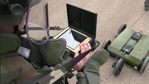 Russian military personnel in Syria received a special geo radar to search for militants' tunnel