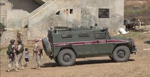 18th Russian -Turkish joint patrol near Ayn al-Arab | May 21st 2020 | Syria