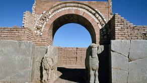 Nimrud, Iraq ancient Assyrian city   November 2016