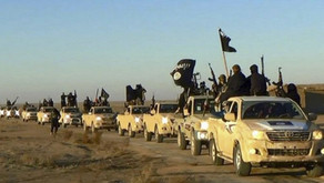 """Islamic State"" jihadists overrunning Iraqi army positions   February 2017"