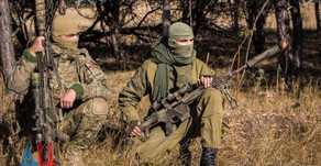 (Archive) +18 | Donbass People's Militia snipers in action ( 2017 - 2018 )