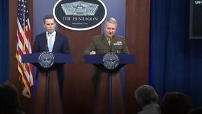 Pentagon briefing on al-Baghdadi raid in northwestern Syria | October 30th, 2019