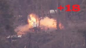 Turkey-backed jihadists using Guided Missiles (ATGM) | December 2019 | Syria