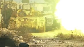 On the battlefield with Liwa al Quds   November 21st 2016   Aleppo, Syria