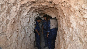 Iraqi police captured an ISIS militant in a rat hole