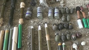 Syrian Army found more Israeli and US made weapons in liberated area near Damascus
