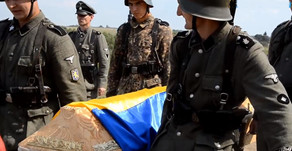 "Solemn reburial of SS ""Galicia"" soldiers in Ukraine 