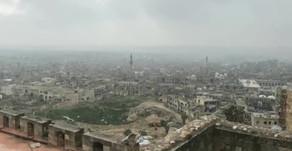 War correspondent Oleg Blokhin in Aleppo Citadel | December 2018