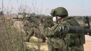 Russian -Turkish military exercises in Idlib | February 11th 2021 | Syria