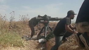 Jihadists using Anti-Tank Guided Missiles   the first week of June 2019   Syria